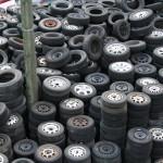 gebrauchte Autoreifen bei Autoverwertung Rottegger