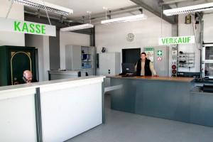 Die neuen Geschäftsräume der Autoverwertung Rottegger
