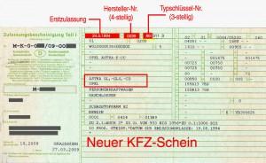 neuer-Kfz-Schein