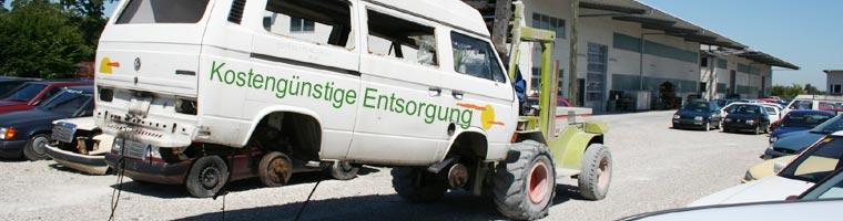 Kostengünstige Entsorgung von KFZ bei Autoverwertung Rottegger